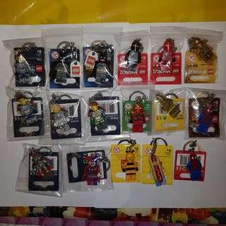 Lego Batman Ninjago Nexo Knights Bee Mascot Keychain Tags For Sale! NOT Lego Exclusive SDCC, Marvel, DC Comics Super Heroes, Fantastic Beast, Harry Potter, City, Batman, Creator, Friends, Pods, Mosaic, Castle, Brickheadz, Modular.