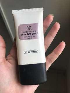 Free !!!  ## Skin Defence The body Shop sunscreen