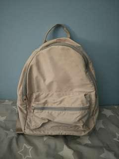 Pink Satin Backpack