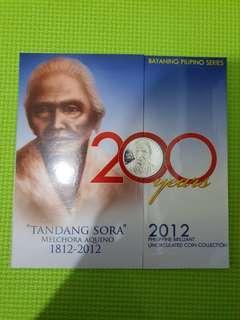 Tandang Sora 2012 Coin Set