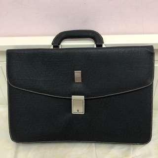 🚚 Dunhill全新公事包💼手提包 男用電腦包 文件包 業務包