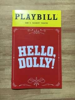 Hello Dolly! Broadway Playbill (DONNA MURPHY)