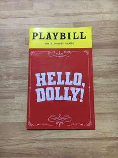 Hello Dolly! Broadway Playbill (BETTE MIDLER)