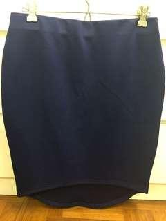 TEMT Electric Blue Skirt