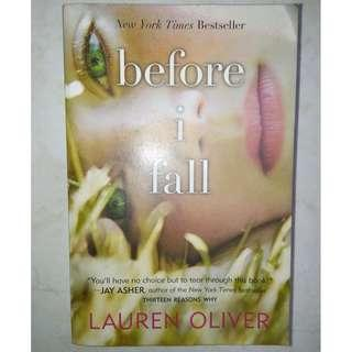 BOOK FOR SALE!!!Before I fall