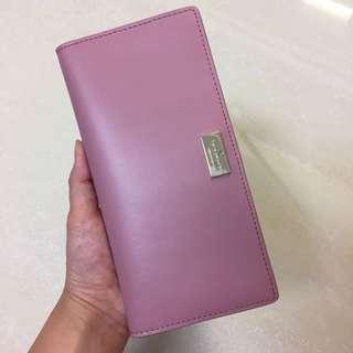🚚 [全新] KATE SPADE粉色皮夾Wallet WLRU2765