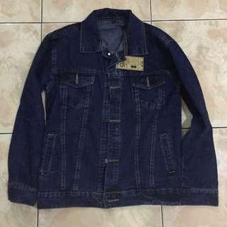 jaket jeans sp jeans original baru