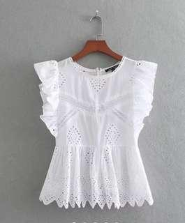 Brand New White Top with tag