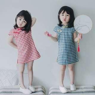 2019 Checkered CNY Dress