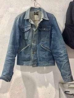 wrangler vintage denim jacket 70'