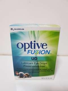 Optive Fusion UD Lubricant Eye Drops Preservative-free