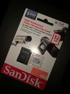 SanDisk High Endurance Video Monitoring Card 32GB
