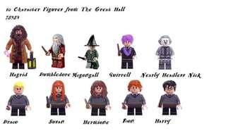 Minifigures Only - Lego Harry Potter 75954 Great Hall