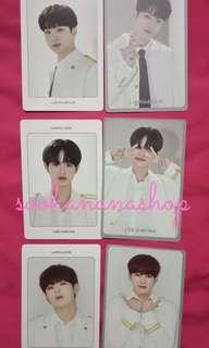 WANNA ONE WORLD TOUR IN SEOUL KIHNO PHOTOCARD