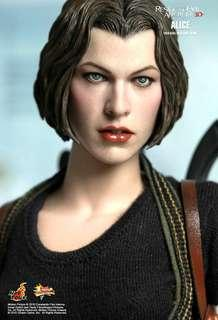 HOT TOYS HOTTOYS 1/6 MMS 139 MMS139 ALICE RESIDENT EVIL AFTERLIFE MISB BRAND NEW SEALED!!!