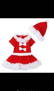 Christmas Girl dress 圣诞裙