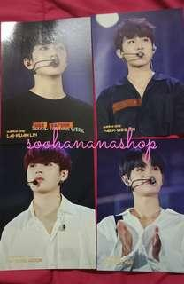 WANNA ONE WORLD TOUR IN SEOUL BLURAY POSTCARD