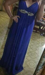 Karimadon Purple Maxi Gown