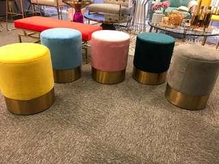 Candilicious powder poof stools