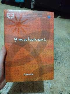 9 matahari novel by Adenita