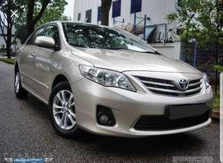 Toyota Corolla Altis / PHV ready