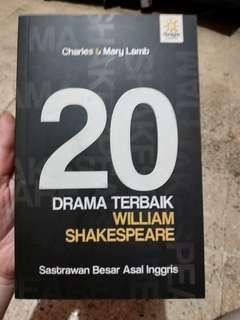 20 drama terbaik William Shakespeare