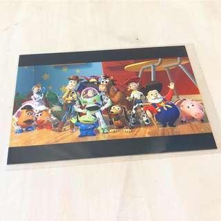 中古 絕版 Toy Story 明信片