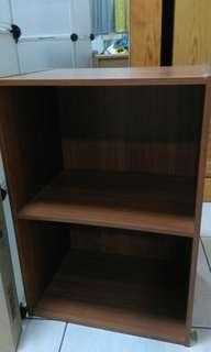 木製二層空櫥