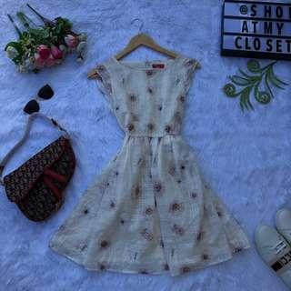 Earth Music and Ecology Floral Dress