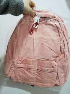 (全新連包裝)韓國潮流服飾品牌背囊/書包 SPAO Backpack-淺粉紅色 baby pink