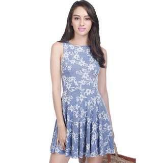 Fayth arcadia lace textured dress