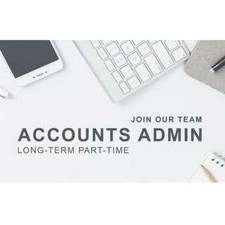 Accounts Admin Part-Time