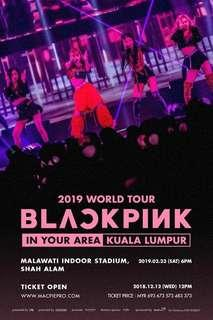 (WTS) BLACKPINK 2019 WORLD TOUR in MALAYSIA BLINK ZONE