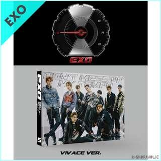 EXO LIMITED EDITION VIVACE version ( 5th Album ' DON'T MESS UP MY TEMPO ' )