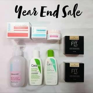 SKINCARE & MAKE UP SALE!