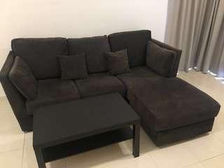 Sofa L shape chair