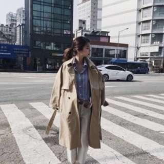 正韓 風衣外套