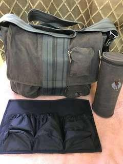 Messenger Diaper Bag (Denim Fabric)