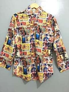 Comic Printed Shirt Ex-Rubylicious