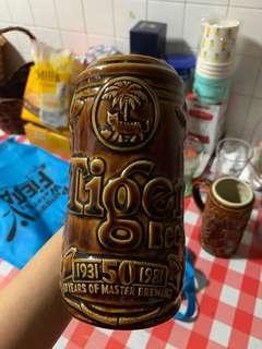 Vintage Tiger Beer mug