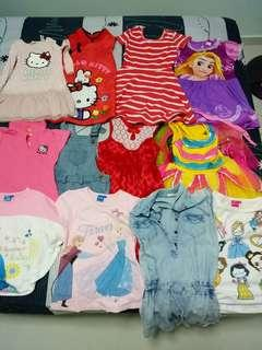 Baby Girl Clothes 2 to 4yo