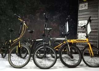 Original hummer folding bike