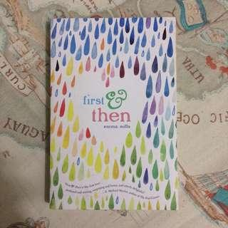 First and then book by Emma Mills