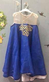 Dress blue anak2