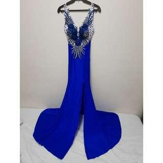 Elegant Formal Long Gown Used for Photoshoot/Prenup