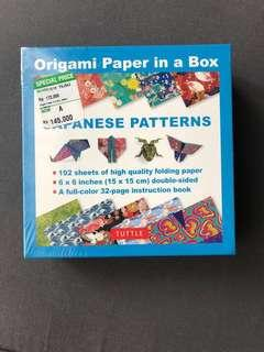 NEW - Origami Paper in A Box