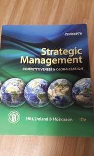 AB3601 Strategic Management 11e (Hitt, Ireland, Hoskisson), with 13e soft copy