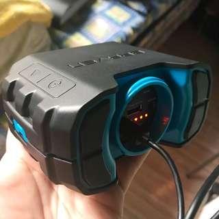 Braven BRV1 Portable Waterproof Bluetooth Speaker (Black Blue)