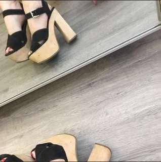 Block Heel Strap