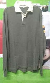 sweater kemeja uniqlo